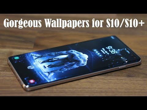 Galaxy S10 Plus - Download These Gorgeous Wallpapers NOW