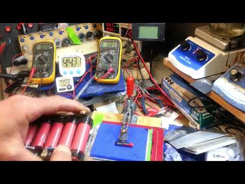 BIG ALMOST All Carbon BATTERY 5Amps Peak Current .. part 2