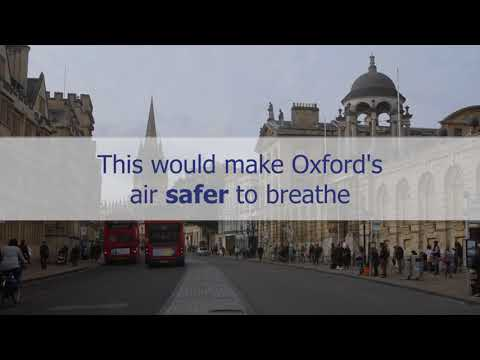 World's first Zero Emission Zone proposed in Oxford