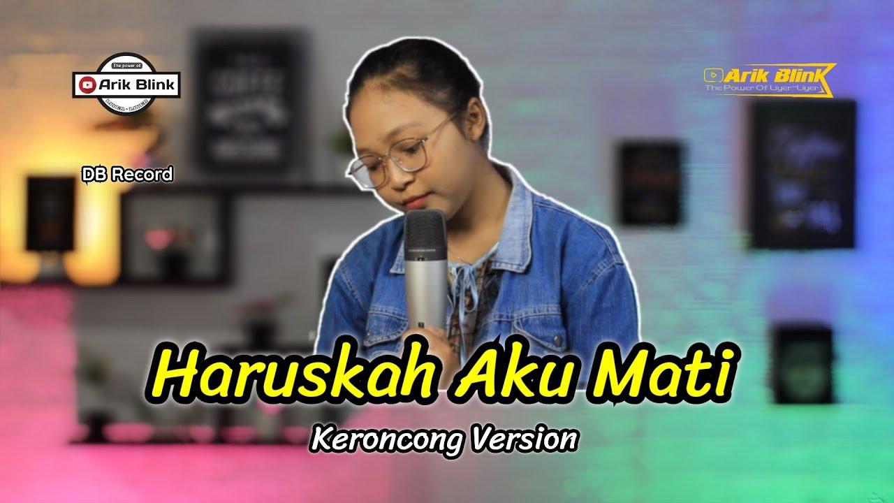 HARUSKAH AKU MATI - KERONCONG VERSION || COVER RISA MILLEN