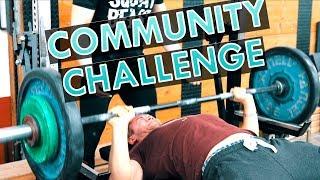 WIE OFT DRÜCKEN WIR UNSER KÖRPERGEWICHT IN EINER MINUTE?! | COMMUNITY CHALLENGE #1