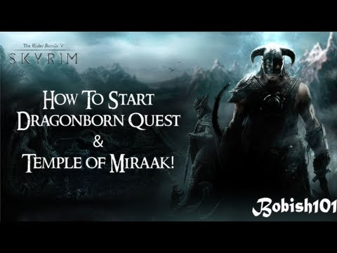 dragonborn quest recommended level