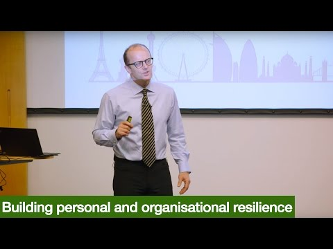 Building personal and organisational resilience with Richard