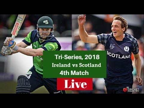Live: Ireland vs Scotland, 4th Match Tri-Series 2018, Ireland and Scotland in UAE Tri-Series, 2018