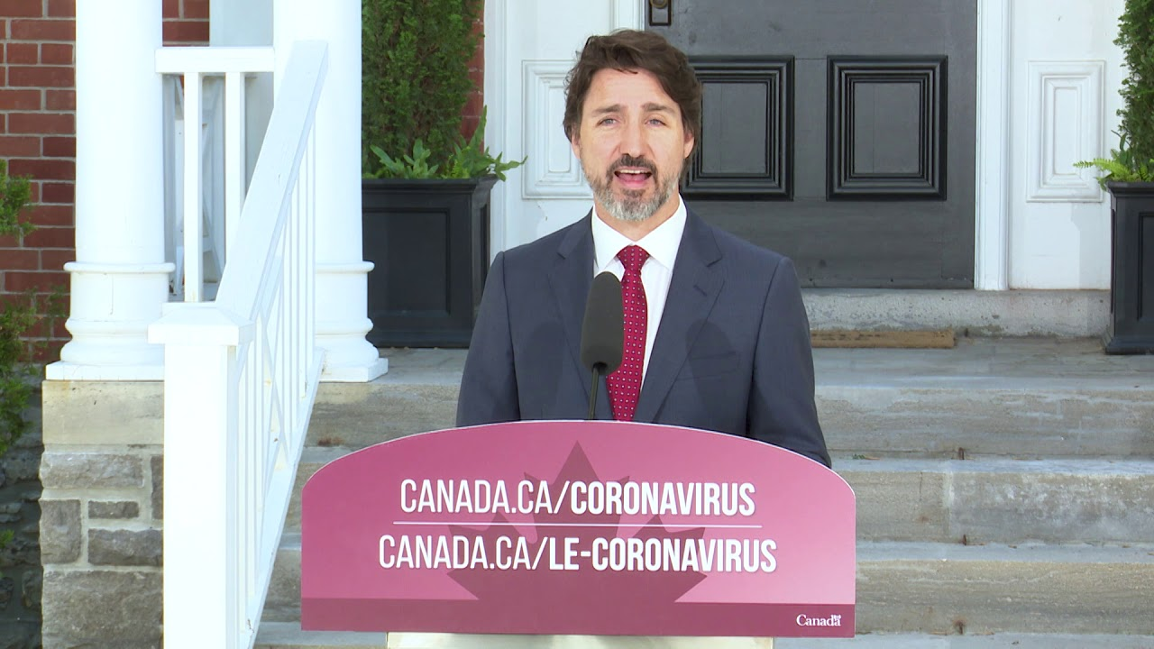 Remarks On Un Security Council And The New Mobile App To Help Notify Canadians Of Covid 19 Exposure Youtube