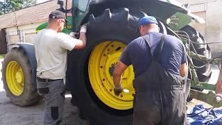 Szybka wymiana opon rolniczych przy ciągniku #VegasOpony