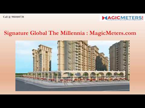 Signature Global The Millennia Affordable Housing by Signature Global in sector 37d CALL@ 9810100738