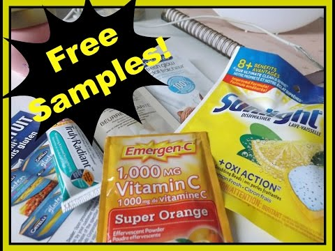 Free Canadian Samples!