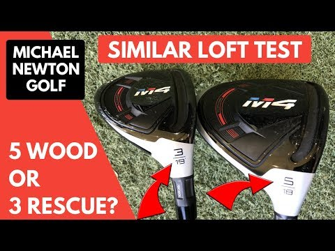 5 Wood Or 3 Rescue - Similar Lofts But Does It Hit A Different Distance?