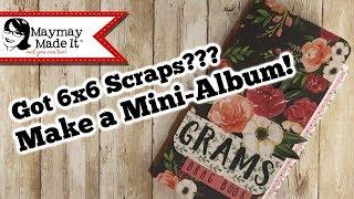 Grams Brag Book using a 6x6 Paper Pack