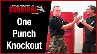 uppercut secret knock someone out with one punch