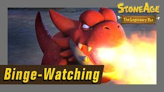 BINGE-WATCHING Episode 27 to 52 l Stone Age the Legendary Pet l NEW Dinosaur Animation