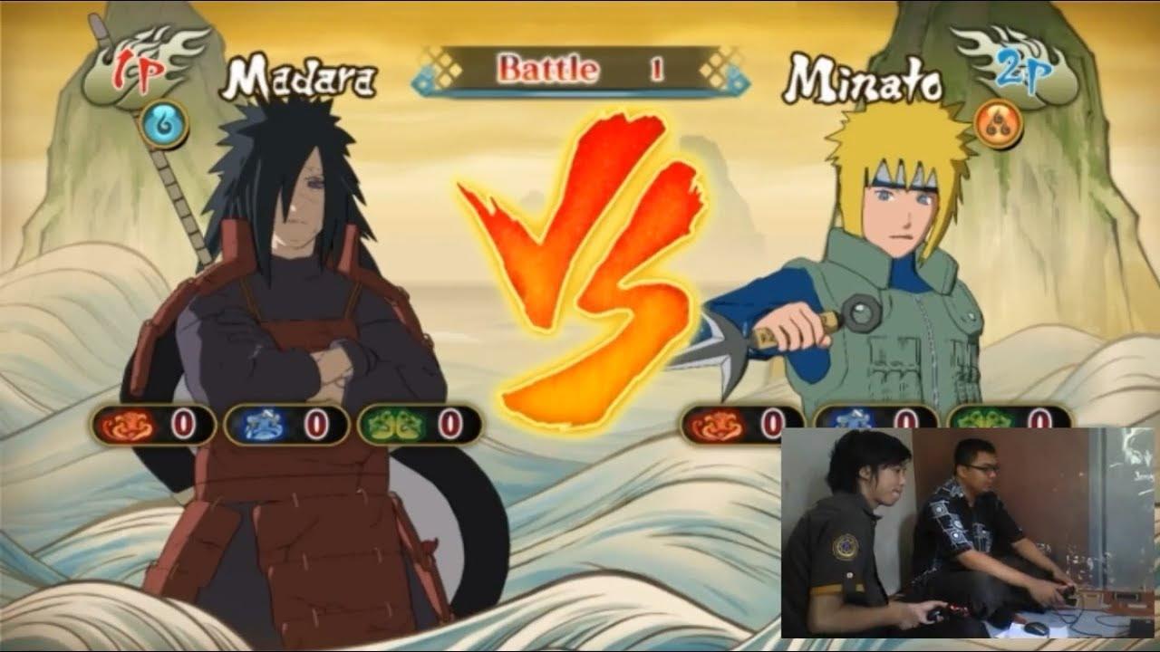 Playing Game Naruto Shippuden Ultimate Ninja Storm Revolution