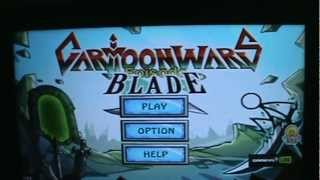 Gameplay Android - Cartoon Wars Blade - Samsung Galaxy Tab P6210 - PT-BR-Brasil