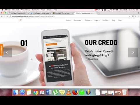 How to Setup U-Design Theme For WordPress | Fareed Mahdi