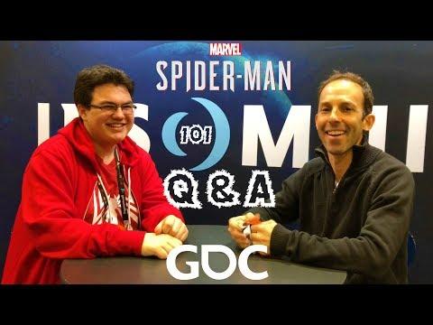 Spider-Man PS4: 101 - Marvel's Spider-Man Q&A w/ Ryan Schneider at GDC 2018!!!