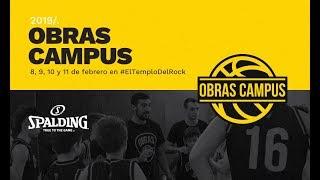 Partido con las estrellas   Campus Obras Basket 2019