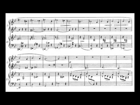 Reynaldo Hahn - Le ruban dénoué for two pianos (1915)