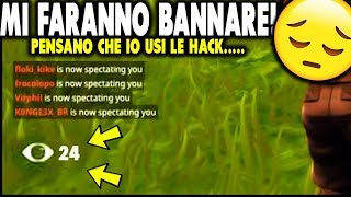 "👉 PENSANO that IT'S a HACKER and I SPECTANO ALL! FORTNITE ITA ""I don't believe it"""