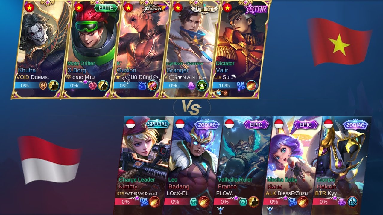 vietnam vs indonesia mobile legends bang bang