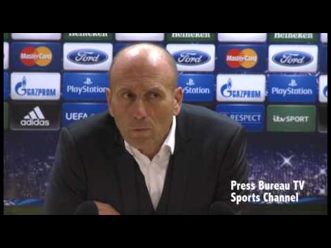 Arsenal vs Marseille - Marseille post match press conference
