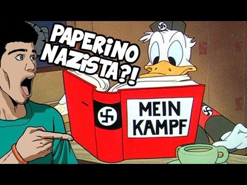 PAPERINO NAZISTA?! La propaganda a cartoni nella WWII - #NerdCultura