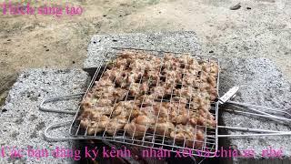 Bếp nướng bún chả Hương Liên- Huong Lien grilled bun cha
