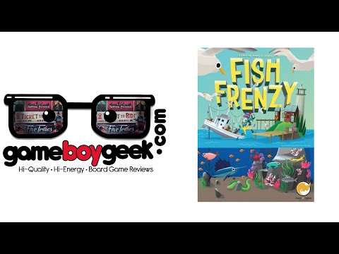 Fish Frenzy Review With The Game Boy Geek