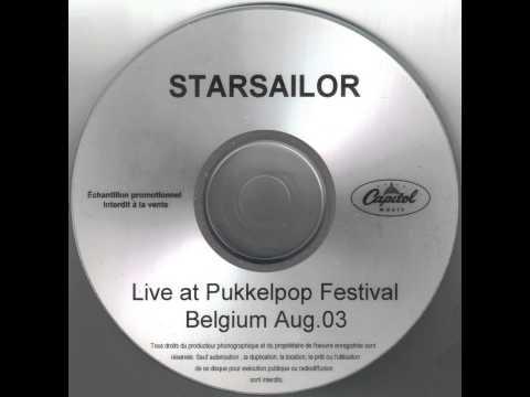 Starsailor - Poor Misguided Fool (Live At Pukkelpop 2003)