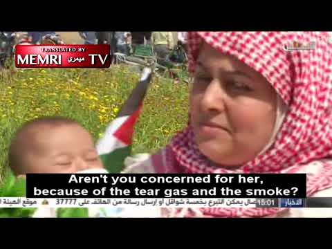 "Mother Brings Three-Month-Old Baby to Gaza ""Return March"""