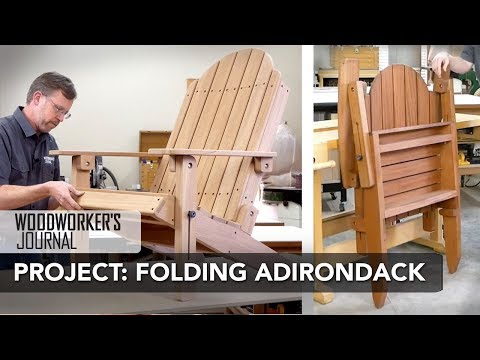 Building a Folding Adirondack Chair | Complete Project Build