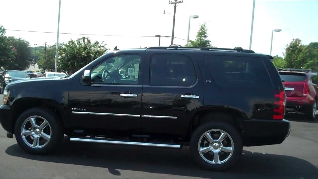 2013 chevrolet tahoe ltz black rock hill sc 29732 burns chevrolet cadillac youtube