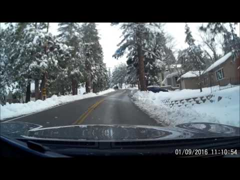 Running Springs California Winter 2016
