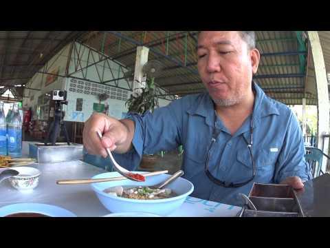 ร้านบะหมี่ครัวซอง ริมน้ำกว๊านพะเยา Noodles Croissants shop at the waterfront  Phayao