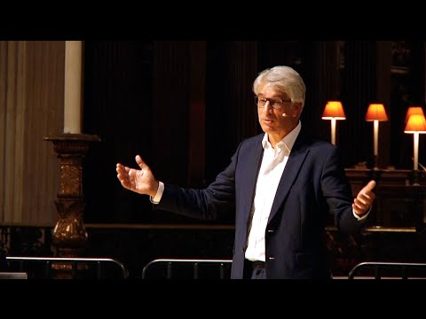Being Human - Steve Chalke Speaks At St Paul's Cathedral