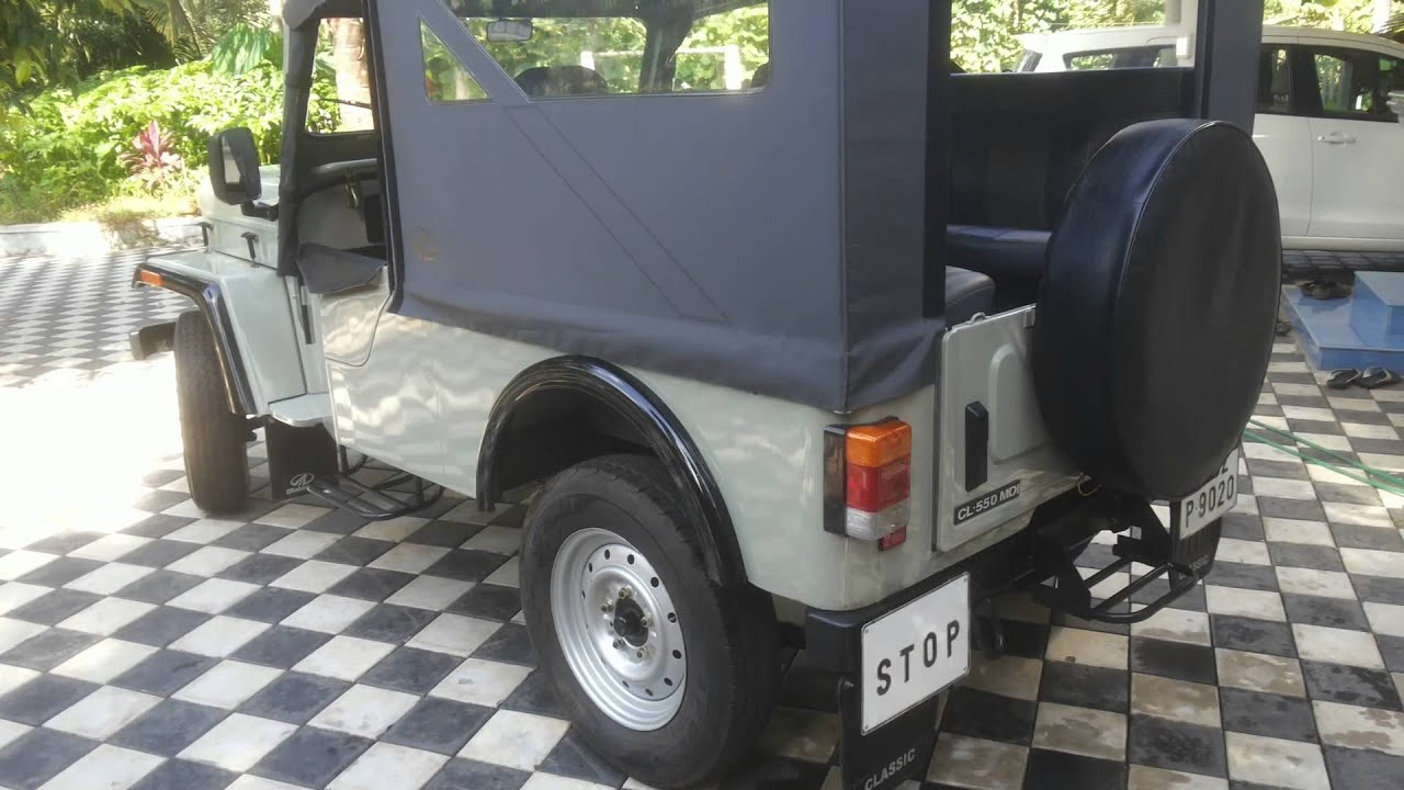Mahindra Major Jeep Youtube