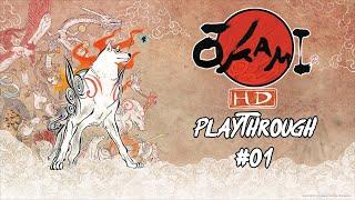 Okami HD Playthrough #01 - Amaterasu the Wolf