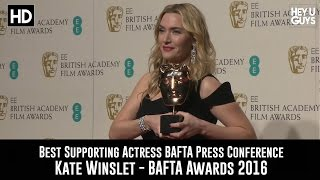 BAFTA 2016 - Best Supporting Actress Press Conference - Kate Winslet