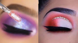 Os Melhores Tutoriais de Maquiagem  para os olhos / New Glam Makeup Tutorials 2020