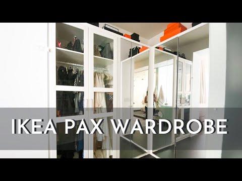 ikea-pax-wardrobe-hack- -built-in-custom-closet- -update