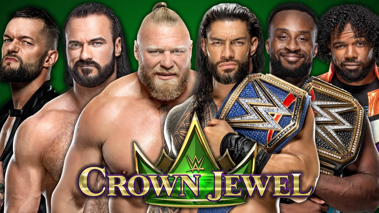 WWE Crown Jewel 2021 live stream: start time, how to watch, card ...