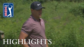 Brooks Koepka's Highlights | Round 2 | THE NORTHERN TRUST 2018