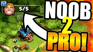 How Long Before NOOB Turns PRO In Clash Of Clans