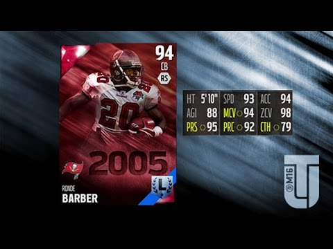 MUT 16 Legend Ronde Barber Review