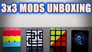 Z Cube 3x3 Sticker Mods Unboxing | Cubeorithms (SpeedCubeShop)