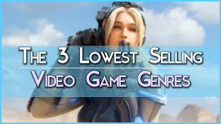 The 3 Lowest Selling Video Game Genres