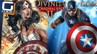 DIVINITY ORIGINAL SIN 2 - CAPTAIN AMERICA / WONDER WOMAN BUILD