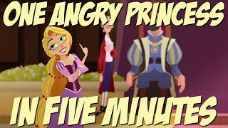 One Angry Princess in Five Minutes