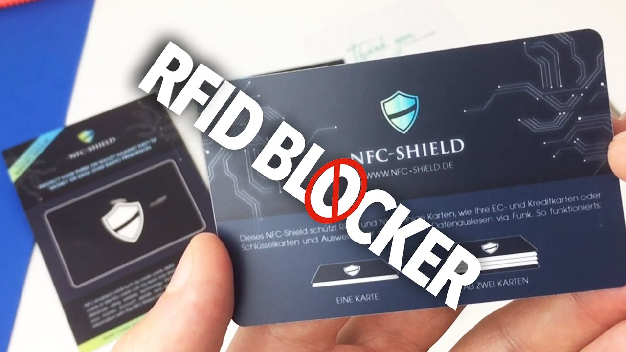 1baeeb0c467d Testing RFID BLOCKING CARD 'Will it keep Your credit card safe?'