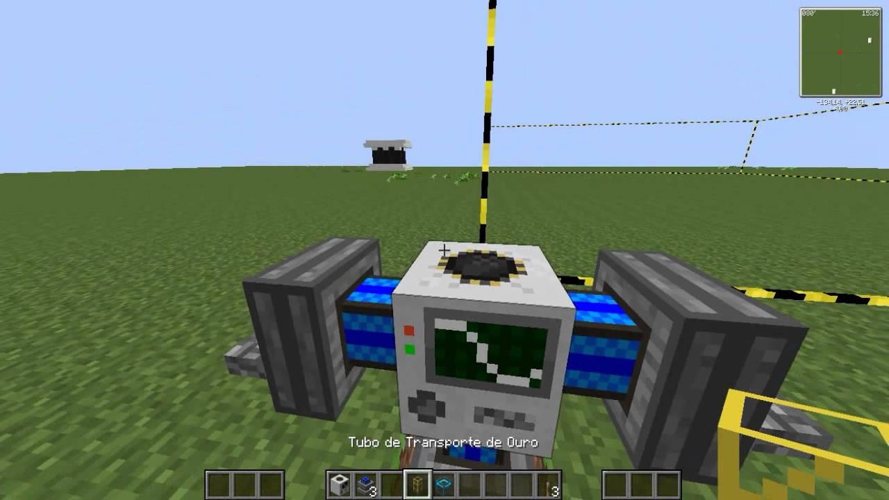 Tutorial: COMO FAZER UMA QUARRY! [Industrial Craft 2/Build ...